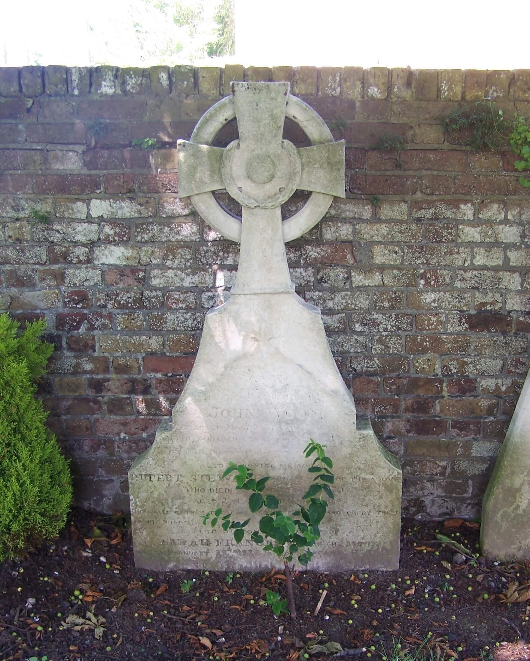 John Woon's Headstone