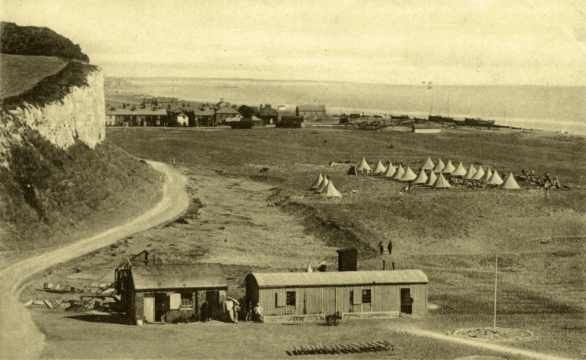 Kingsdown Rifle Range and Camp c1910